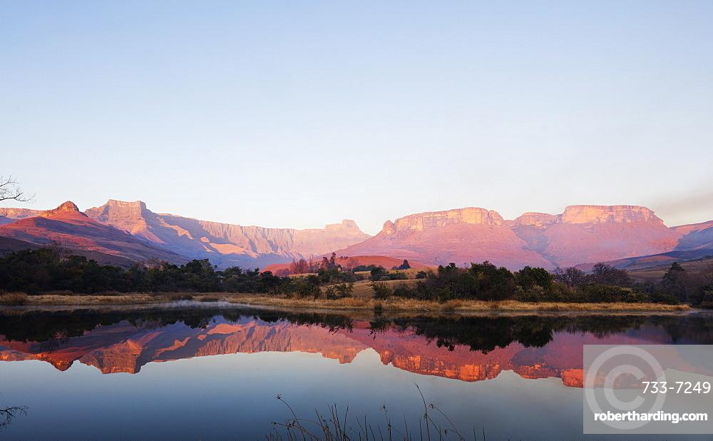 Royal Natal National Park, Drakensburg, Kwazulu-Natal, South Africa, Africa