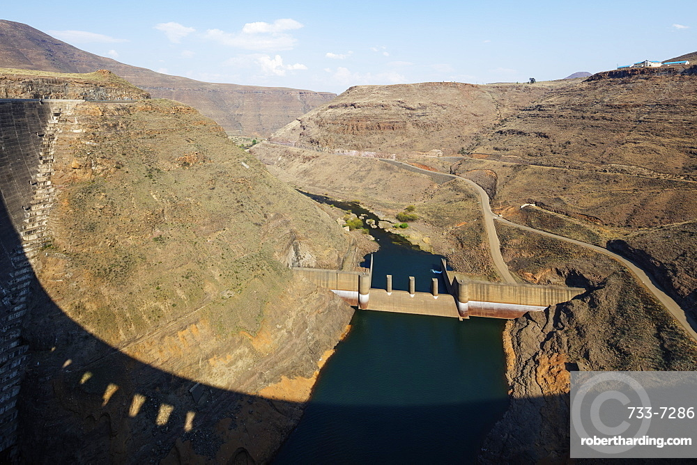 Katse Dam, Lesotho, Africa