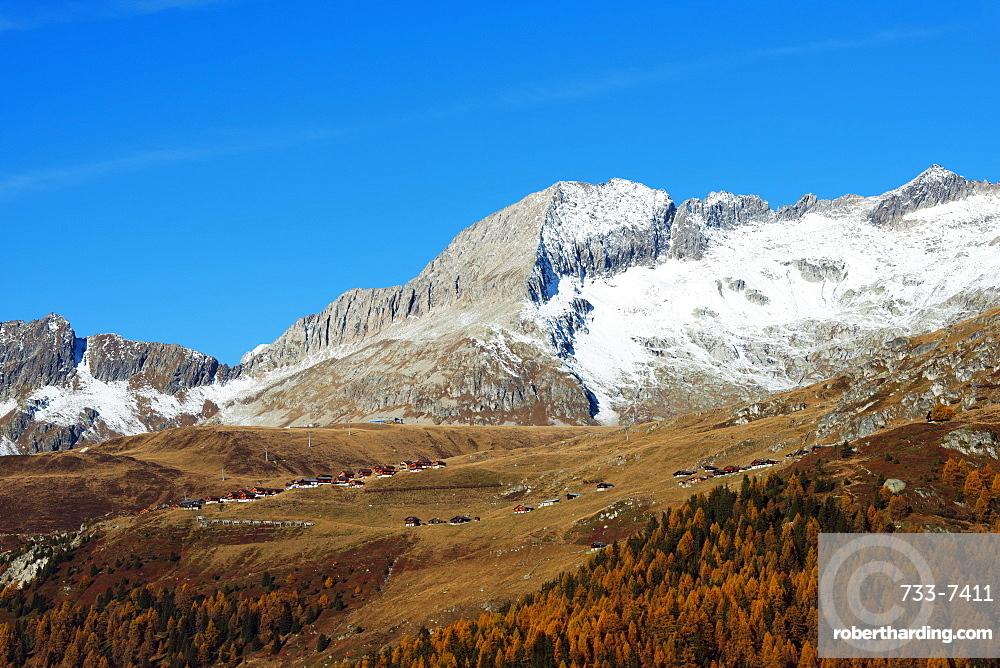 Village of Blatten, Jungfrau-Aletsch, UNESCO World Heritage Site, Valais, Swiss Alps, Switzerland, Europe