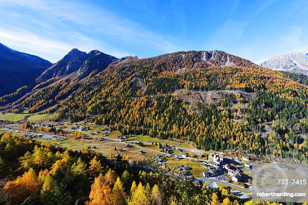 Trient, Valais, Swiss Alps, Switzerland, Europe