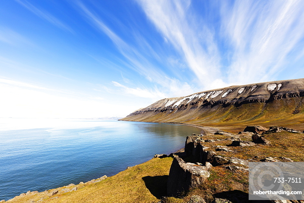 Kapp Lee, Spitsbergen, Svalbard, Arctic, Norway, Europe
