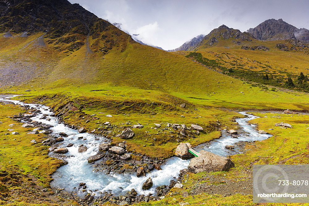 Valley of Flowers, Kok Jaiyk, Karakol, Kyrgyzstan, Central Asia, Asia