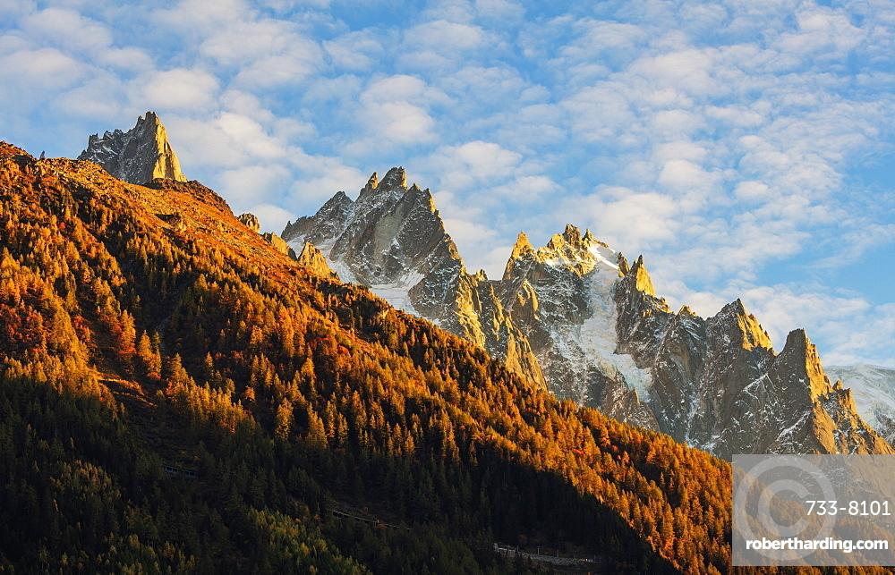Aiguille de Chamonix, Chamonix, Haute Savoie, French Alps, France, Europe