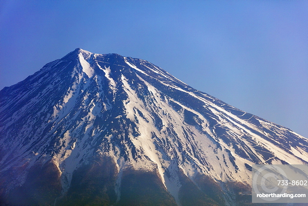 Mount Fuji, 3776m, UNESCO World Heritage Site, Yamanashi Prefecture, Honshu, Japan, Asia