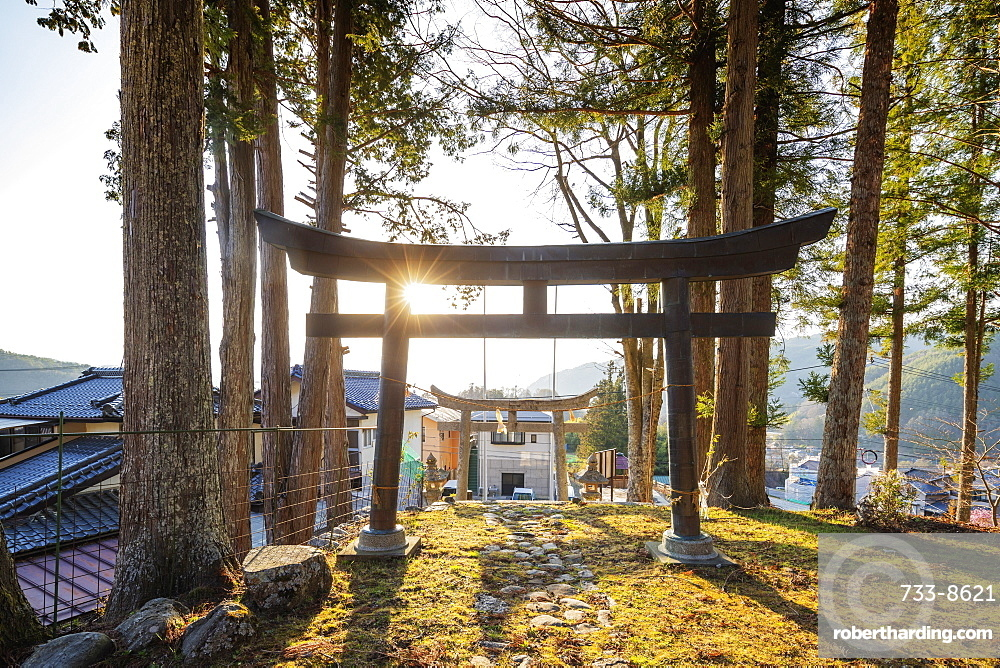 Sairyuji Temple, Takato, Nagano Prefecture, Honshu, Japan, Asia