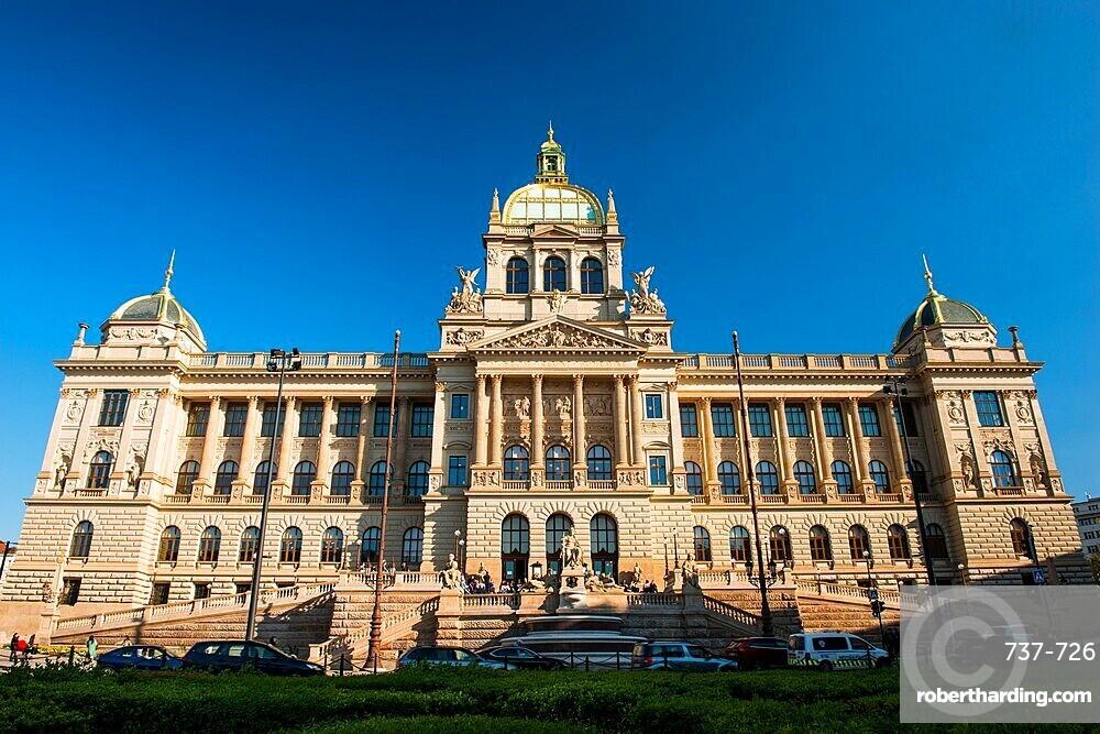 National Museum, Wenceslas Square, New Town, Prague, Czechia