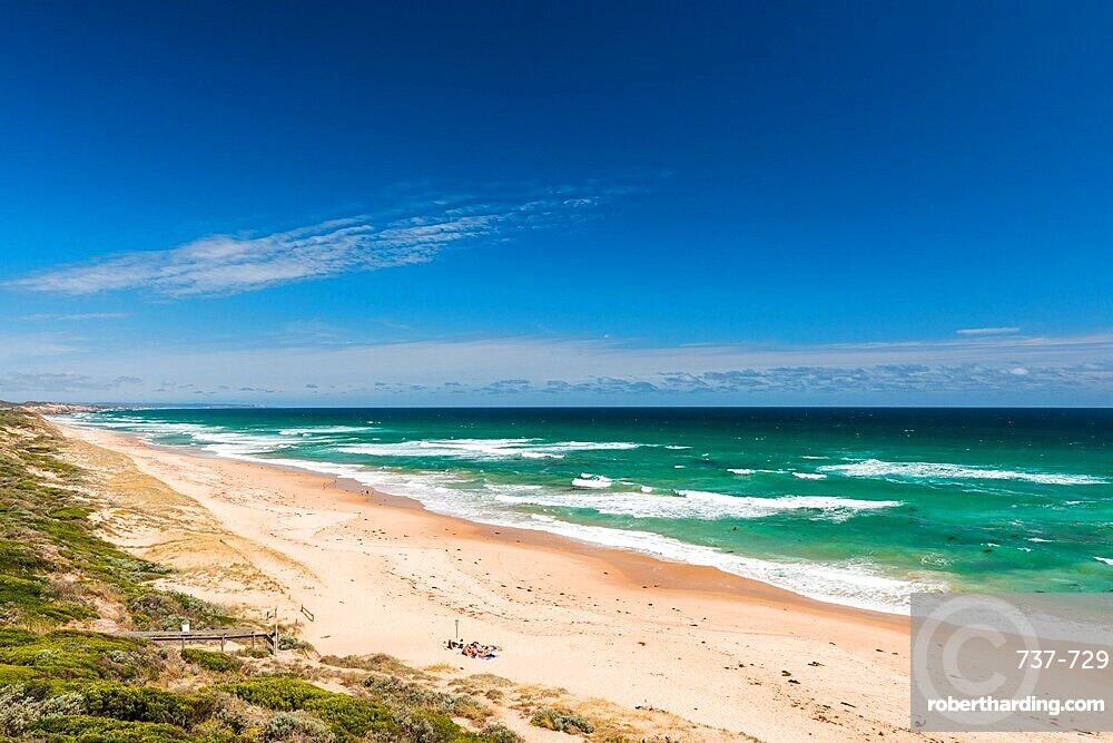 Portsea Back Beach and Southern Ocean, Point Nepean National Park, Portsea, Victora