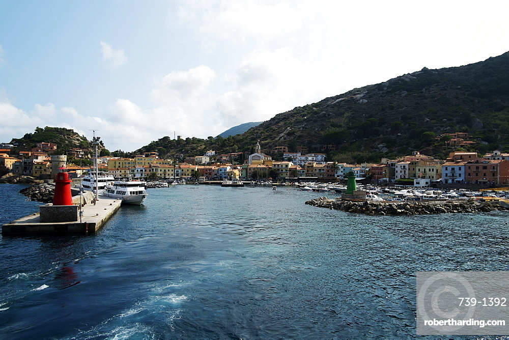 Giglio Island, Tuscany, Italy, Europe