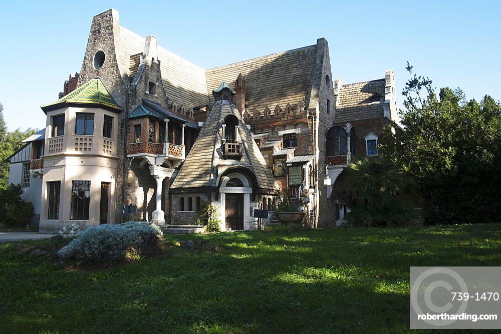 The House of the Fairy (Villa Torlonia), Rome, Lazio, Italy, Europe