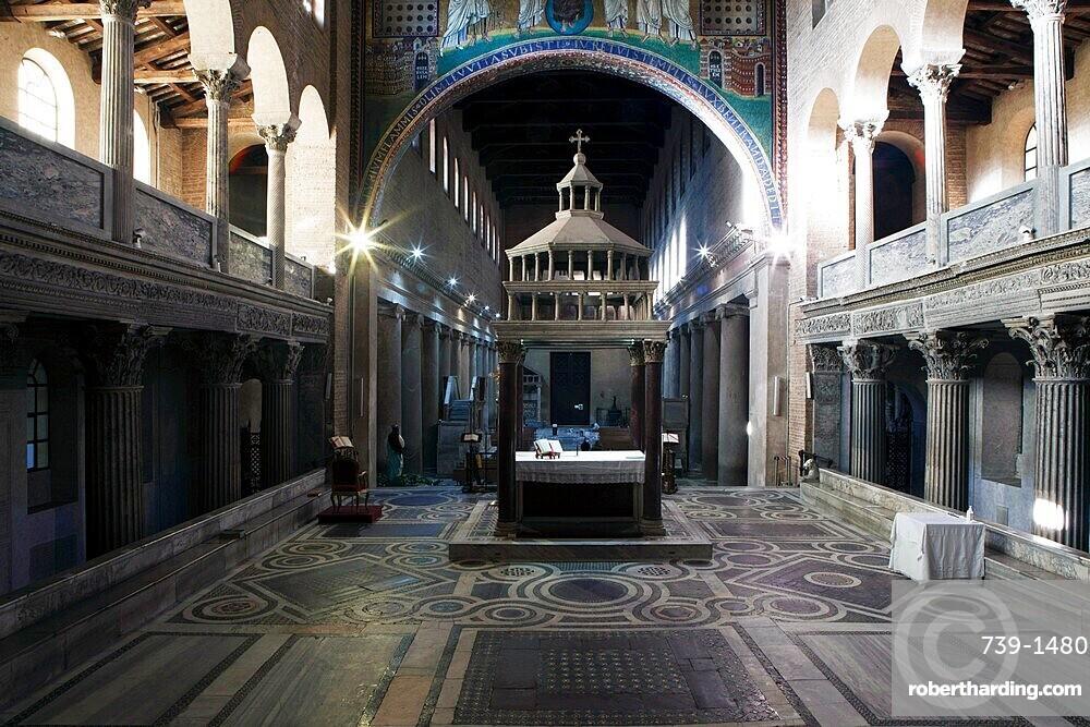 Basilica di San Lorenzo, Rome, Lazio, Italy, Europe