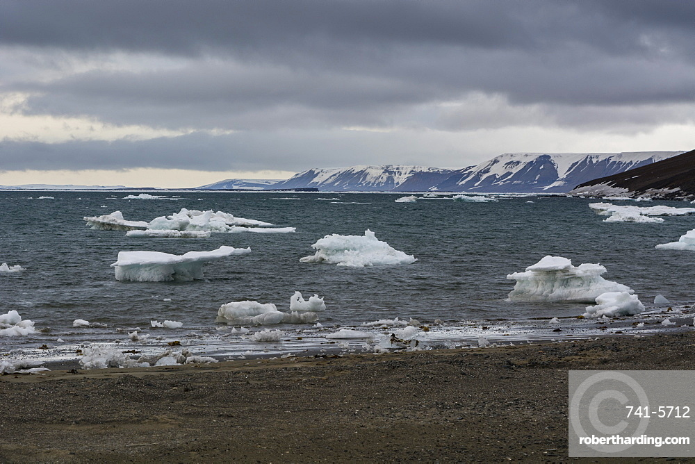 Edgeoya island, Svalbard islands, Arctic, Norway, Europe