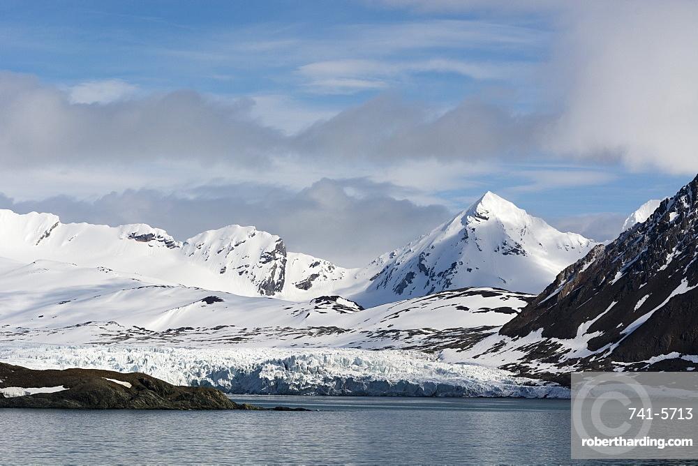 Burgerbukta, Spitsbergen, Svalbard islands, Arctic, Norway, Europe