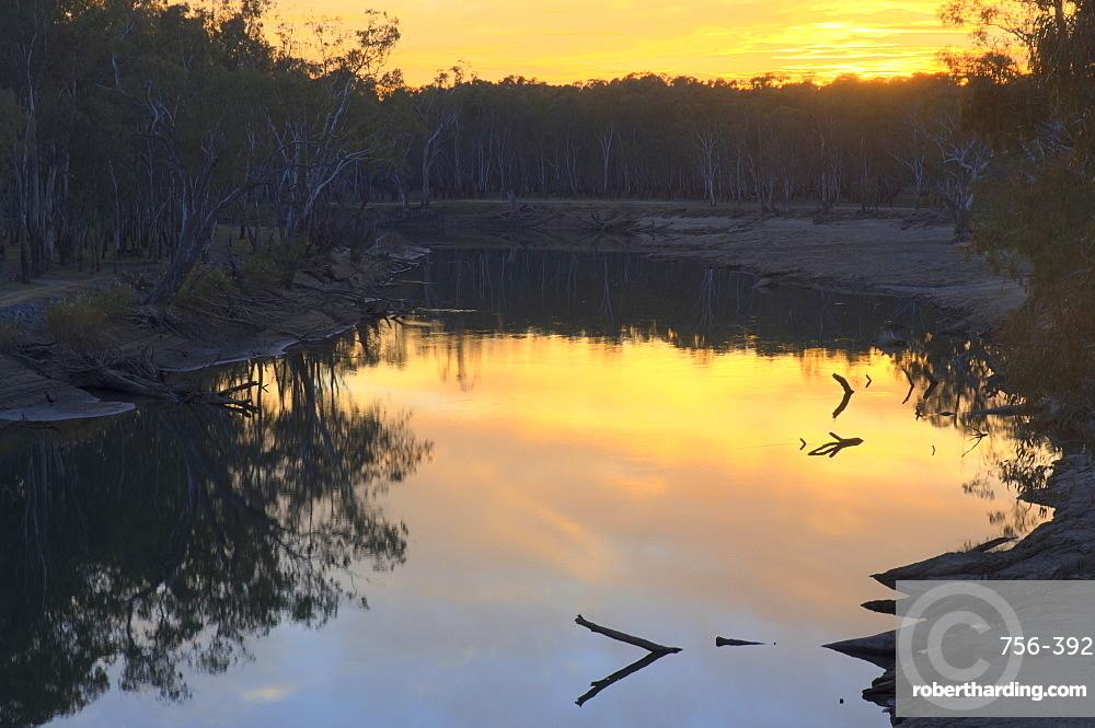Murray River, Wahgunyah, Victoria, Australia, Pacific