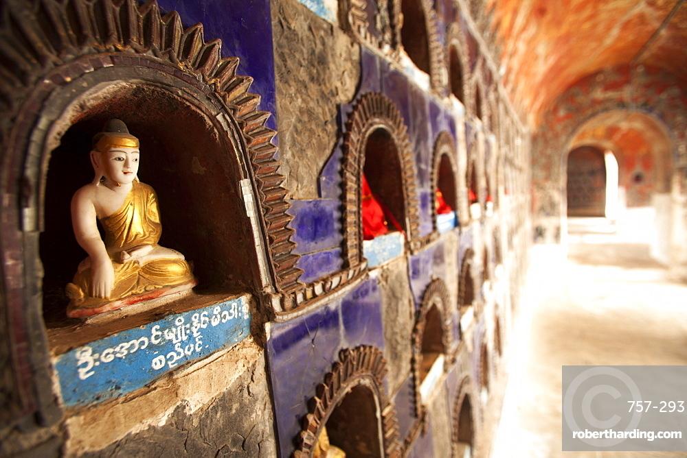 Shwe Yan Pyay Monestary, Nyaungshwe, Inle Lake, Myanamar (Burma), Asia