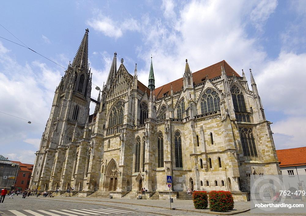 Cathedral (Dom), Regensburg, Bavaria, Germany, Europe