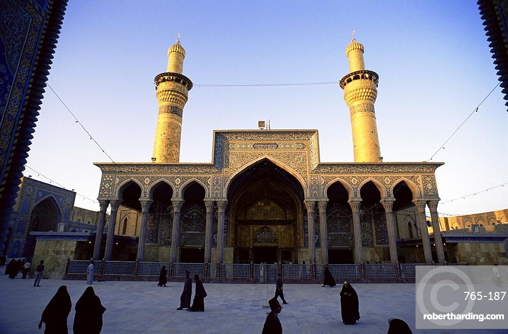 Al Abbas Mosque, Karbala (Kerbela), Iraq, Middle East