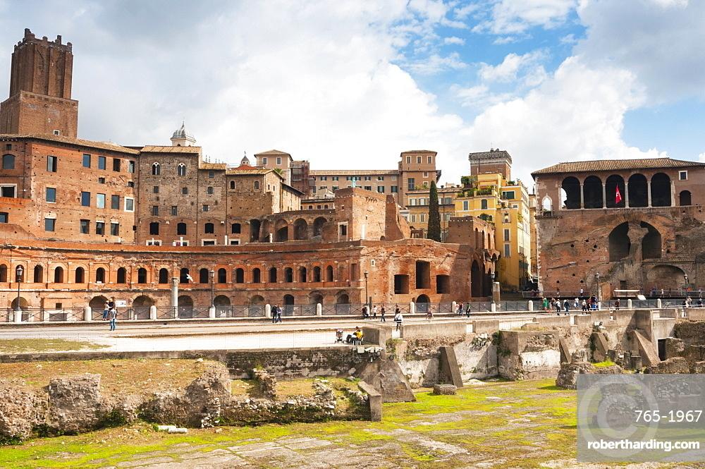 Trajan's Forum, Rome, Unesco World Heritage Site, Latium, Italy, Europe