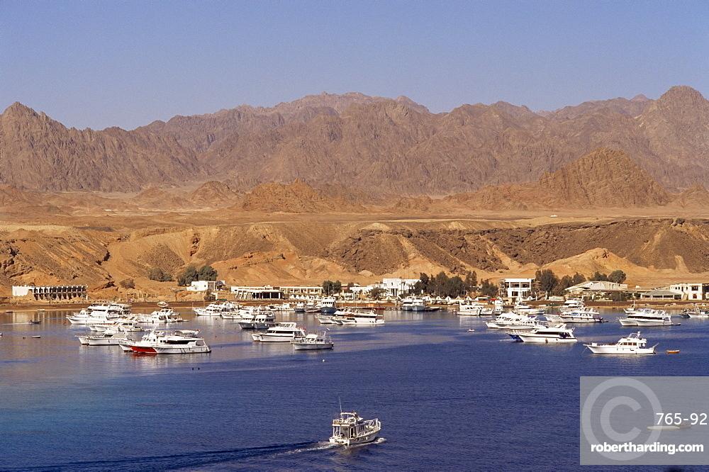The harbour, Sharm El Sheikh (Sharm el-Sheikh), Egypt, North Africa, Africa