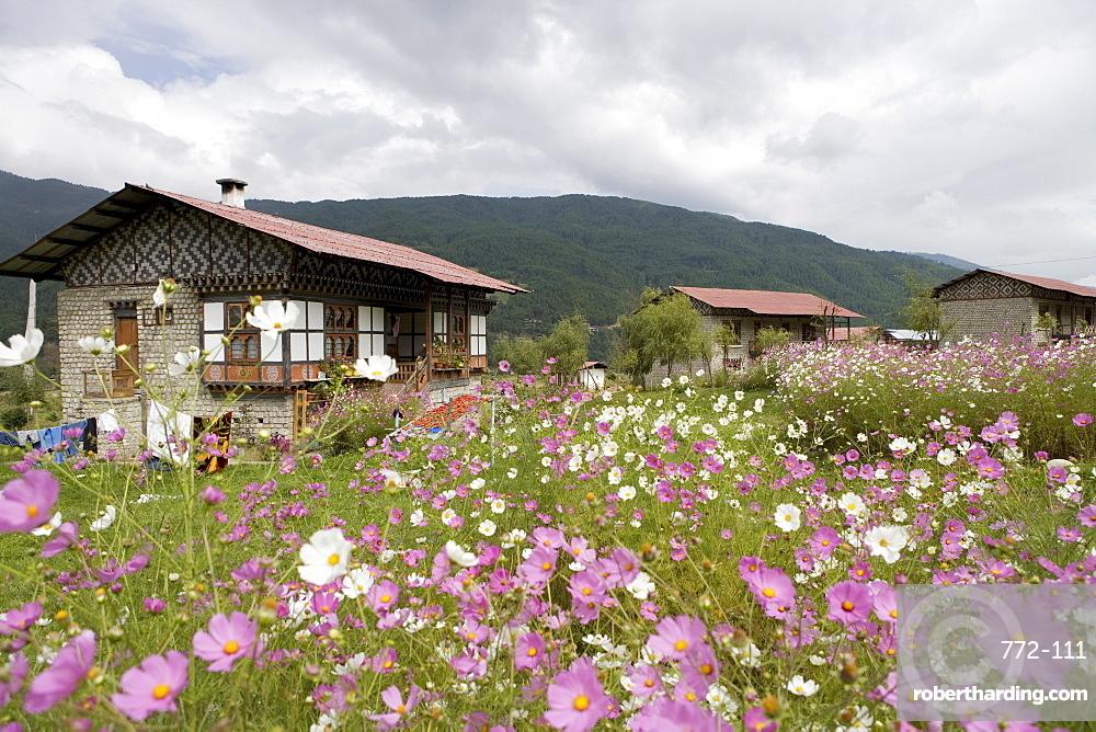 Jankar, Bumthang Valley, Bhutan, Asia