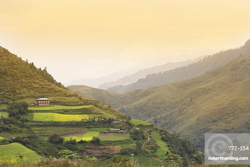 Himalayas, Bhutan, Asia