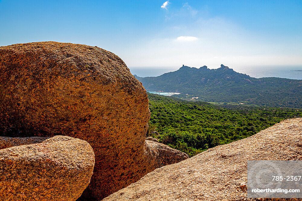 Roccapina 'Lion Rock' near Sartene