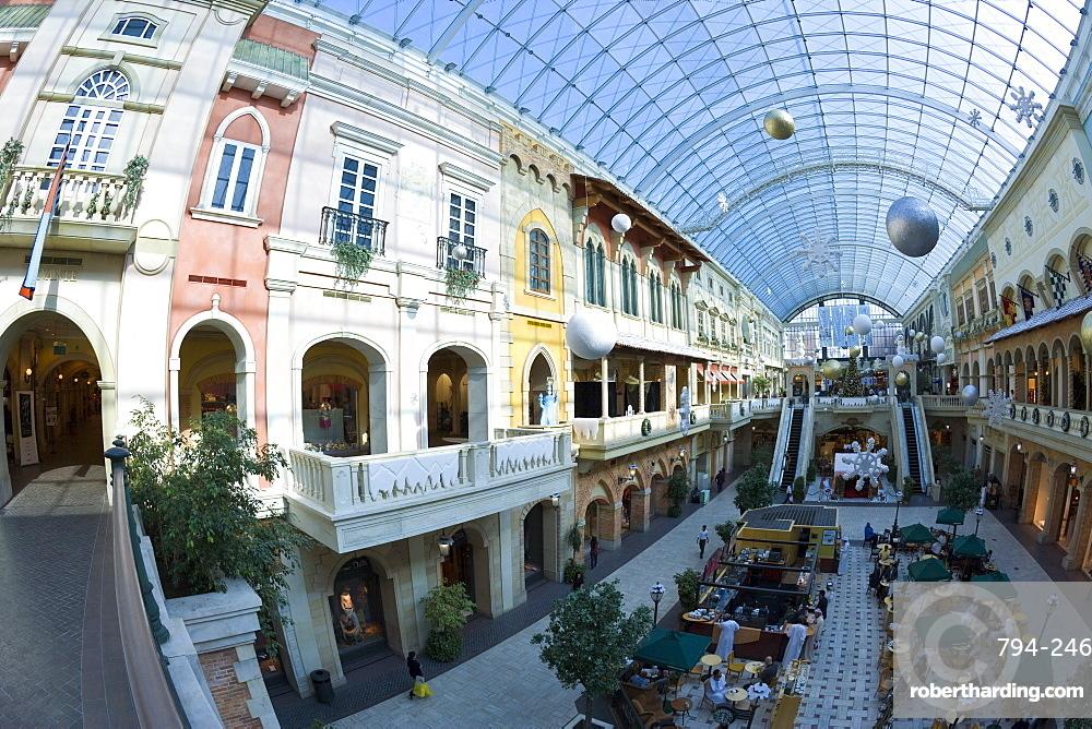 Interior of Mercato Mall, Jumeirah, Dubai, United Arab Emirates, Middle East