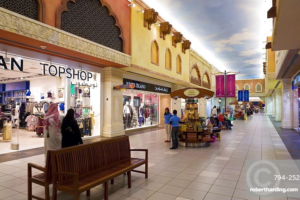 Ibn Battuta Shopping Mall, Dubai, United Arab Emirates, Middle East