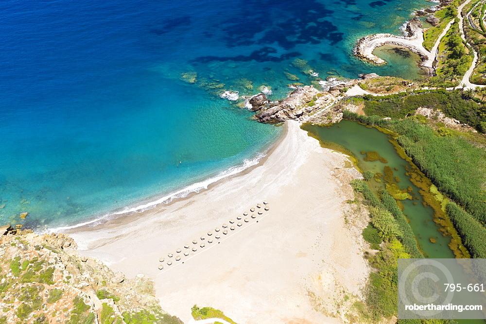 Geropotamos beach, rethymno greece