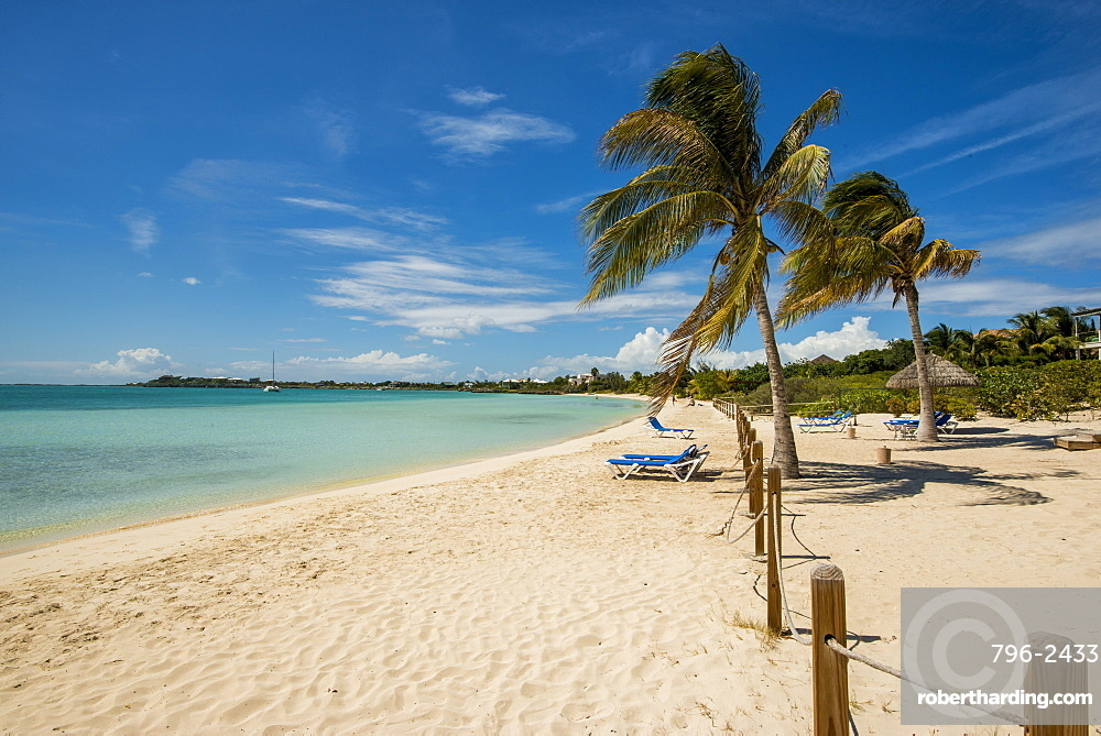 Sapodilla Bay Beach, Providenciales, Turks and Caicos Islands, West Indies, Central America