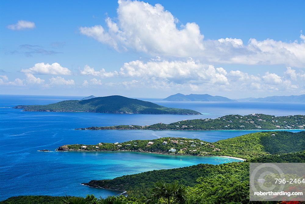 Magens Bay on Saint Thomas, US Virgin Islands
