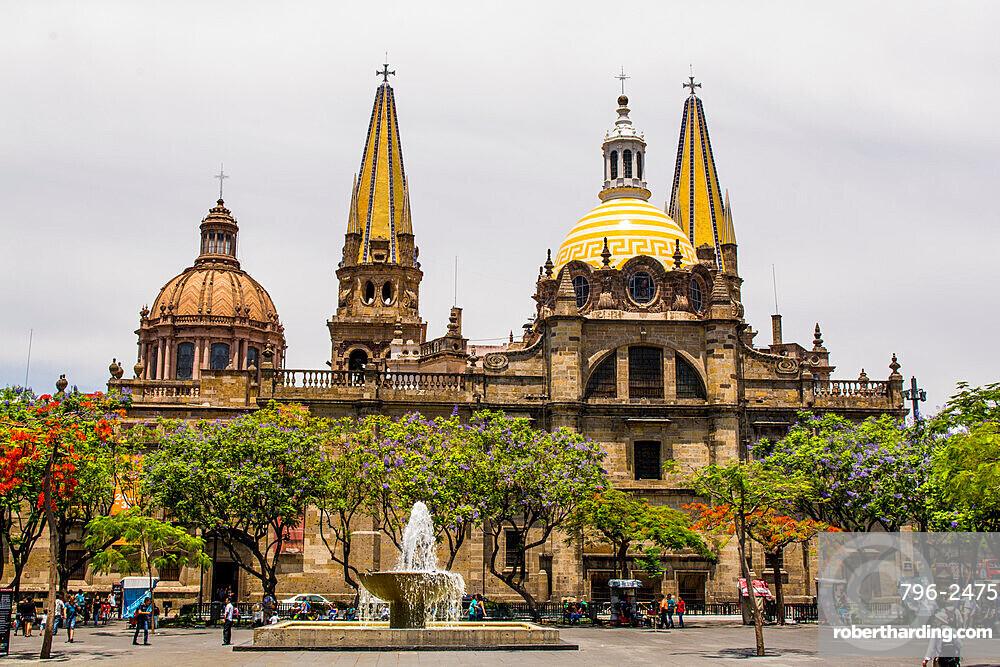 Guadalajara Cathedral, Historic Center, Guadalajara, Jalisco, Mexico.