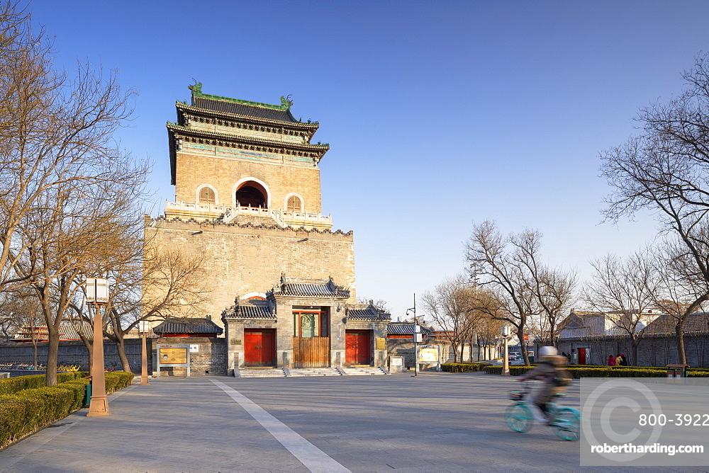 Bell Tower, Dongcheng, Beijing, China, Asia