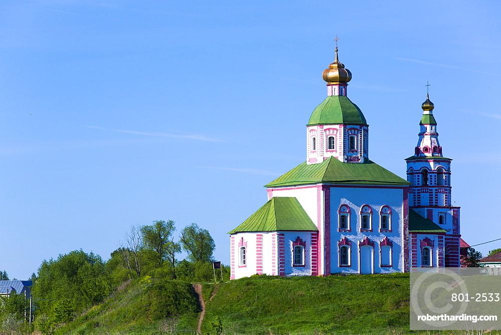 Church of Elijah the Prophet (Ilyi Proroka), Suzdal, Vladimir Oblast, Russia, Europe