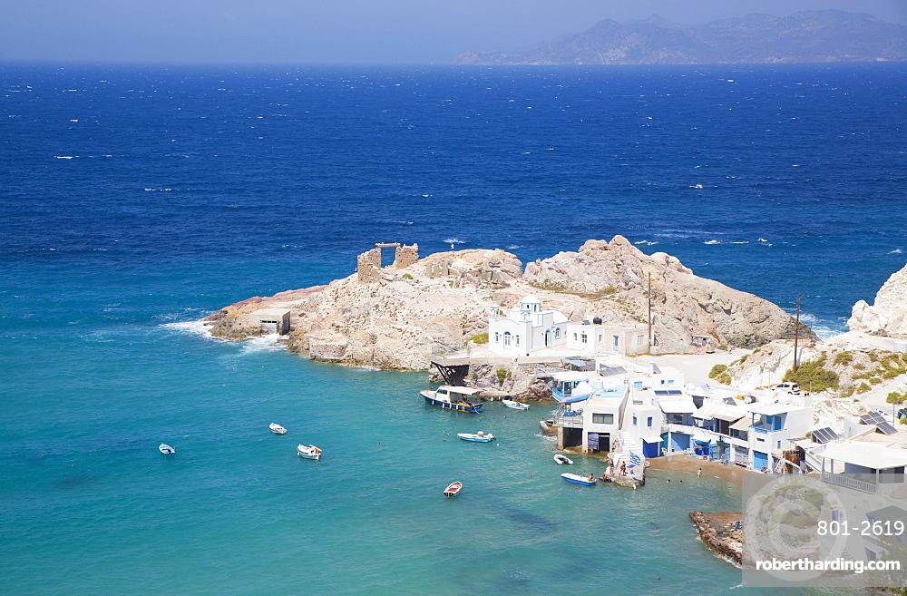 Fyropotamos Village, Milos Island, Cyclades Group, Greek Islands, Greece, Europe