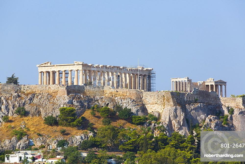 Parthenon, Acropolis, UNESCO World Heritage Site, Athens, Greece, Europe