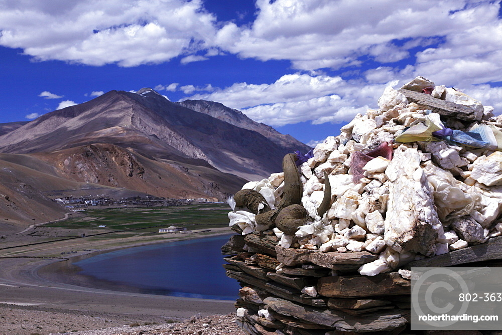 Tso Mori lake, southeast Ladakh, India, Asia