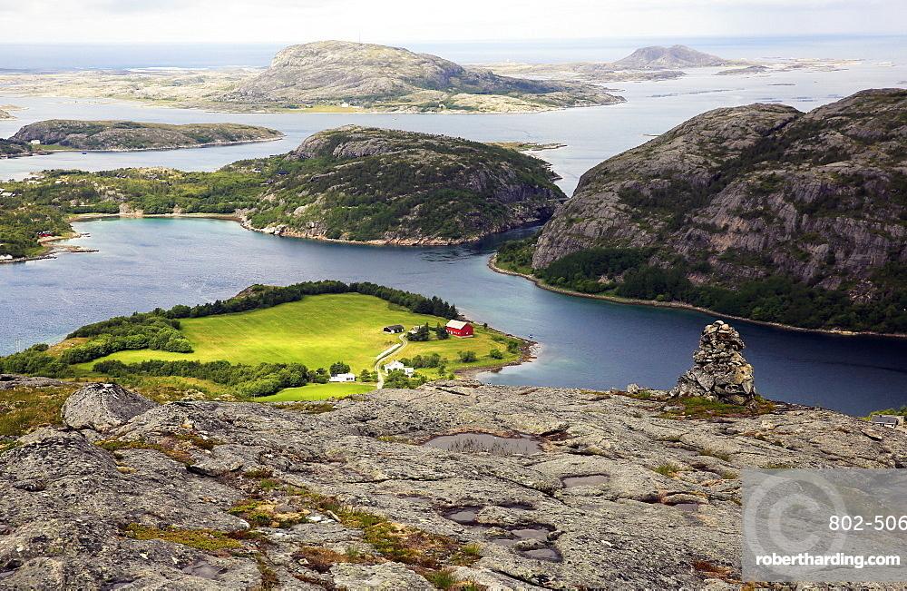 Seascape, Flatanger, Trondelag, western Norway, Scandinavia, Europe