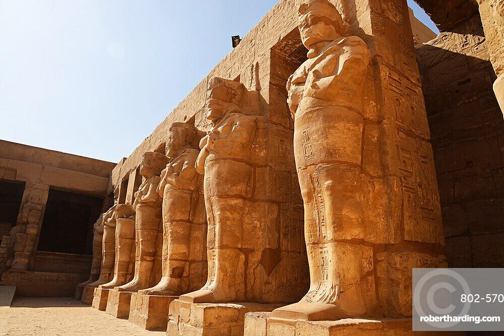 Inside Karnak Temple, UNESCO World Heritage Site, near Luxor, Thebes, Egypt, North Africa, Africa