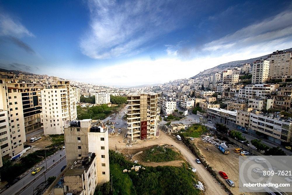 Nablus city centre, West Bank, Palestine, Middle East