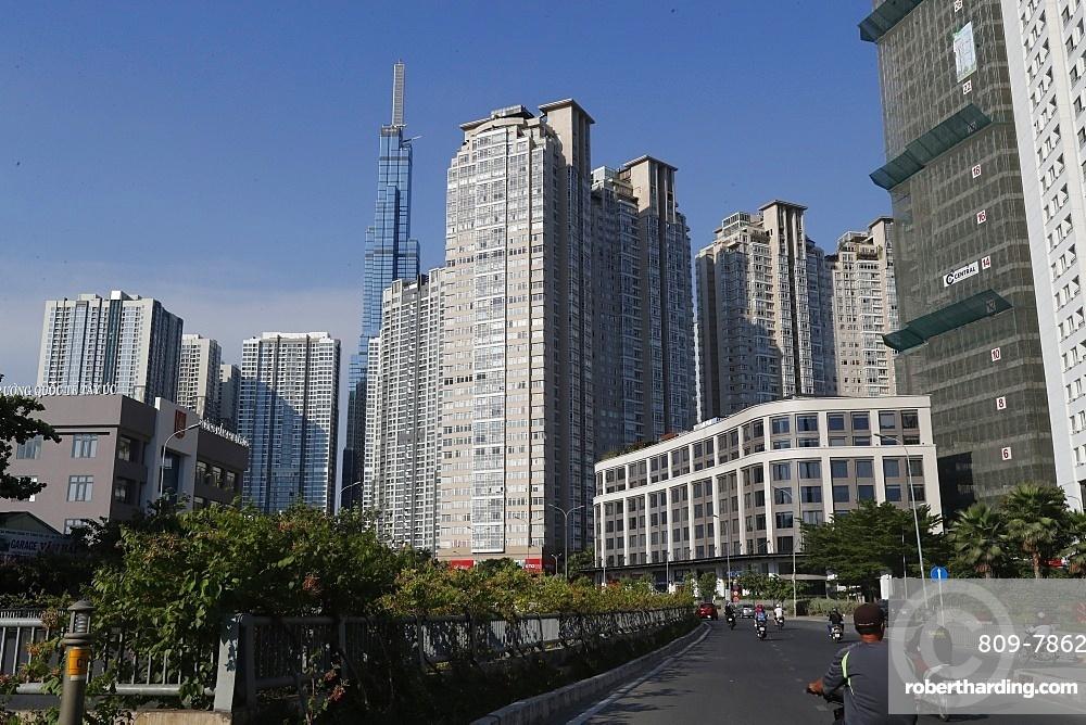 Landmark 81, a super-tall skyscraper, 461m, Ho Chi Minh City, Vietnam, Indochina, Southeast Asia, Asia