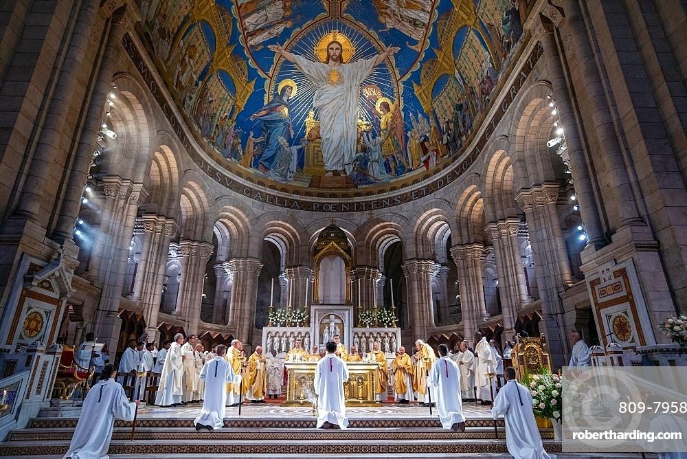 Jubilee of the Sacred Heart Basilica, Paris, France, Europe