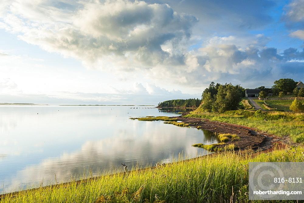 The north shore of Prince Edward island at sunset, Prince Edward Island, Canada, North America