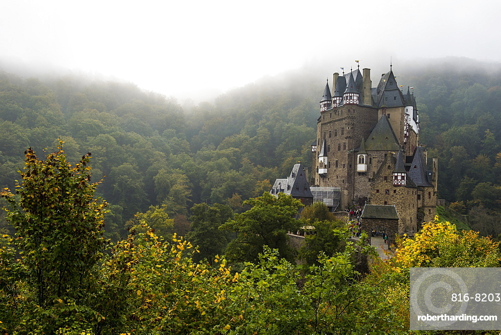 Fairytale castle Eltz near the Moselle Valley, Rhineland-Palatinate, Germany, Europe