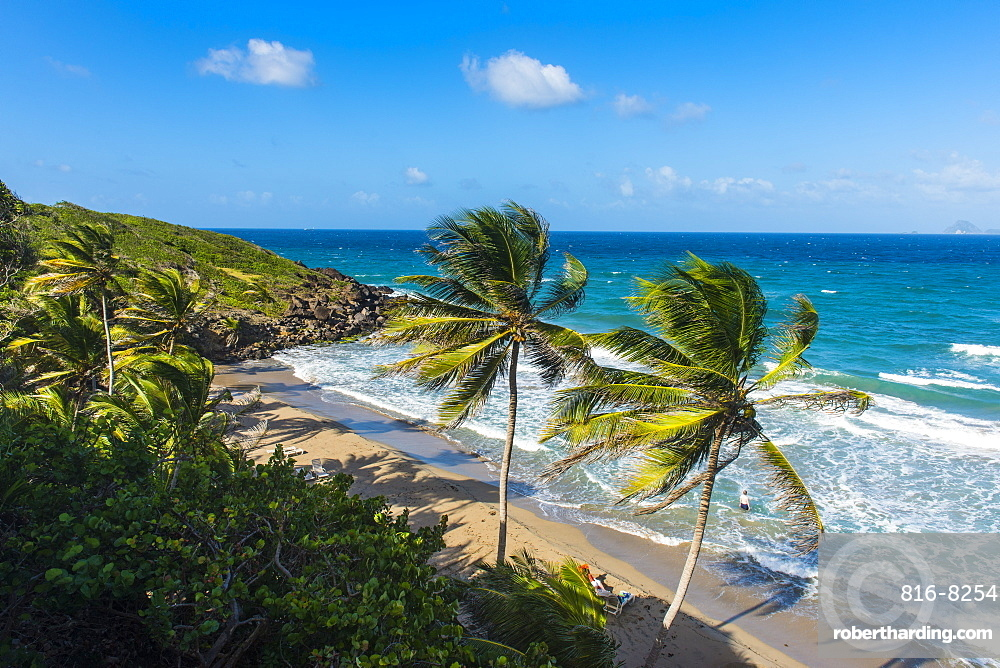 View over Petite Anse near Sauteurs, Grenada, Windward Islands, West Indies, Caribbean, Central America