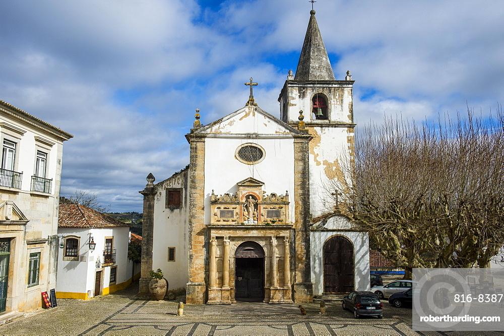 Little church, Obidos, Estremadura, Portugal, Europe