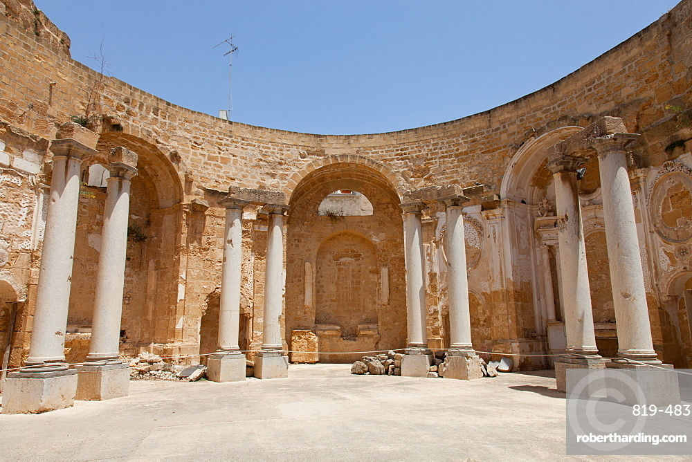 Sant'Ignazio Church ruins, Mazara del Vallo, Sicily, Italy, Europe