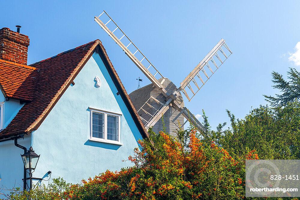 UK, England, Essex, Finchingfield, Duck End Mill, Letch's Mill or Finchingfield Post Mill
