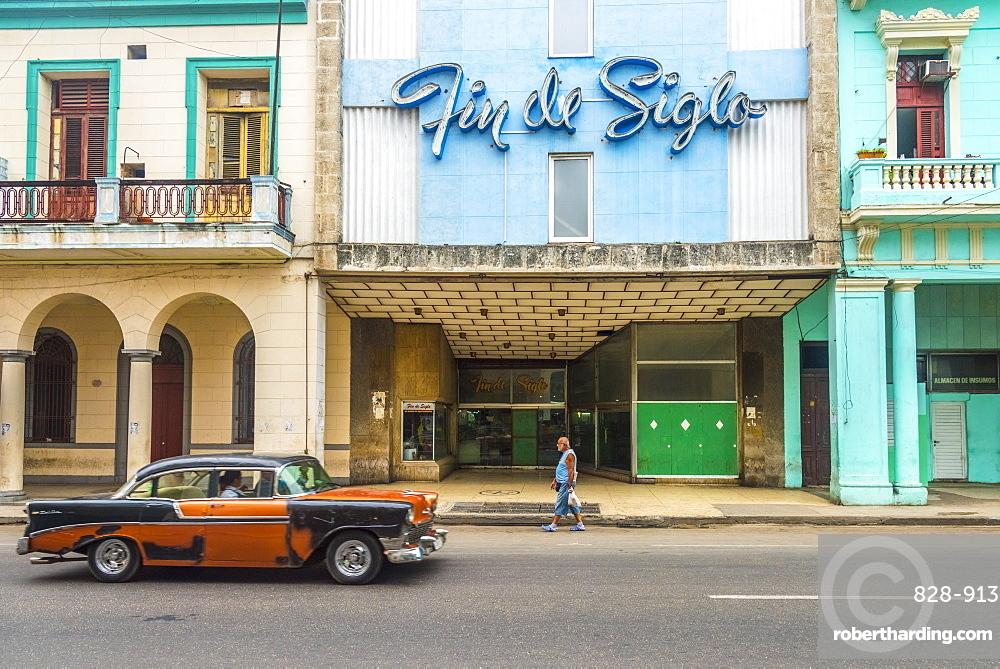 Avenida de Italia, Centro Habana, Havana, Cuba, West Indies, Caribbean, Central America