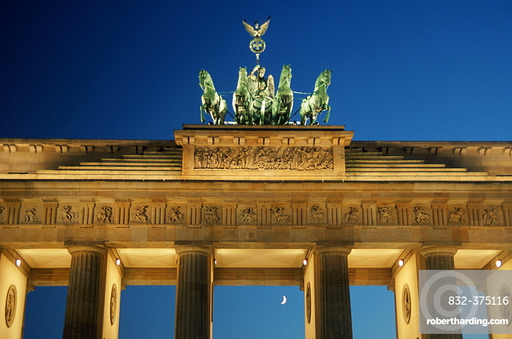 Quadriga on Brandenburg Gate, Berlin, Germany