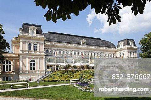Congress house and Theatre in Bad Ischl, Salzkammergut, Upper Austria